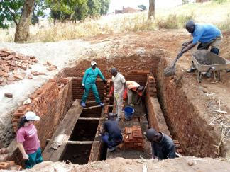 Pit Latrine Project in Ntchisi